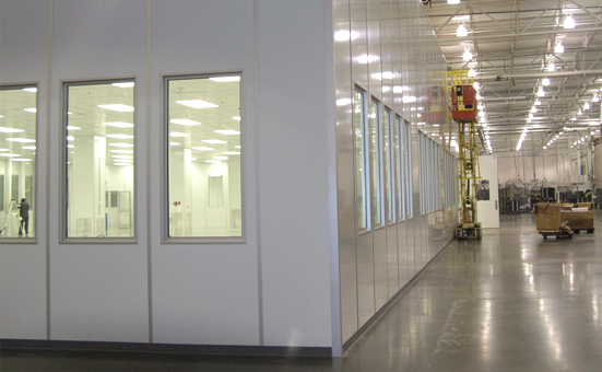 Industrial Modular Cleanroom Design and Construction