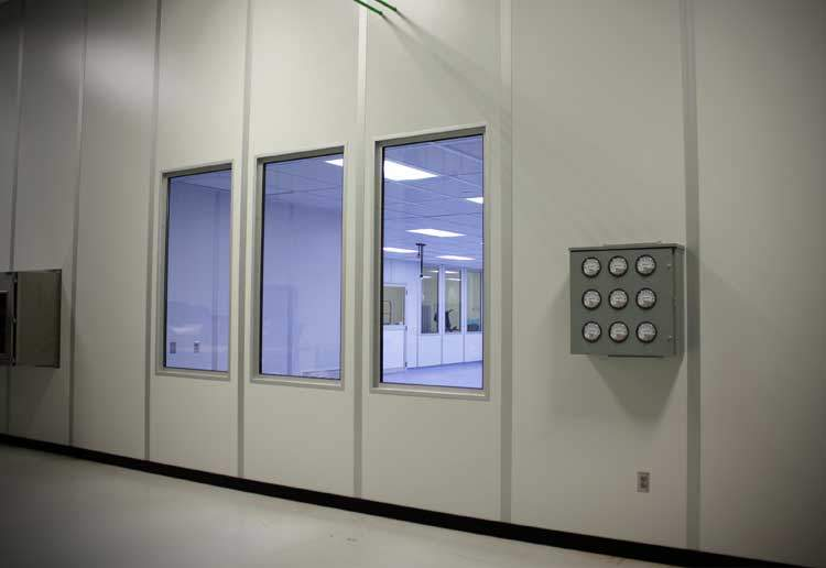 sterile packaging cleanroom design and cleanroom construction