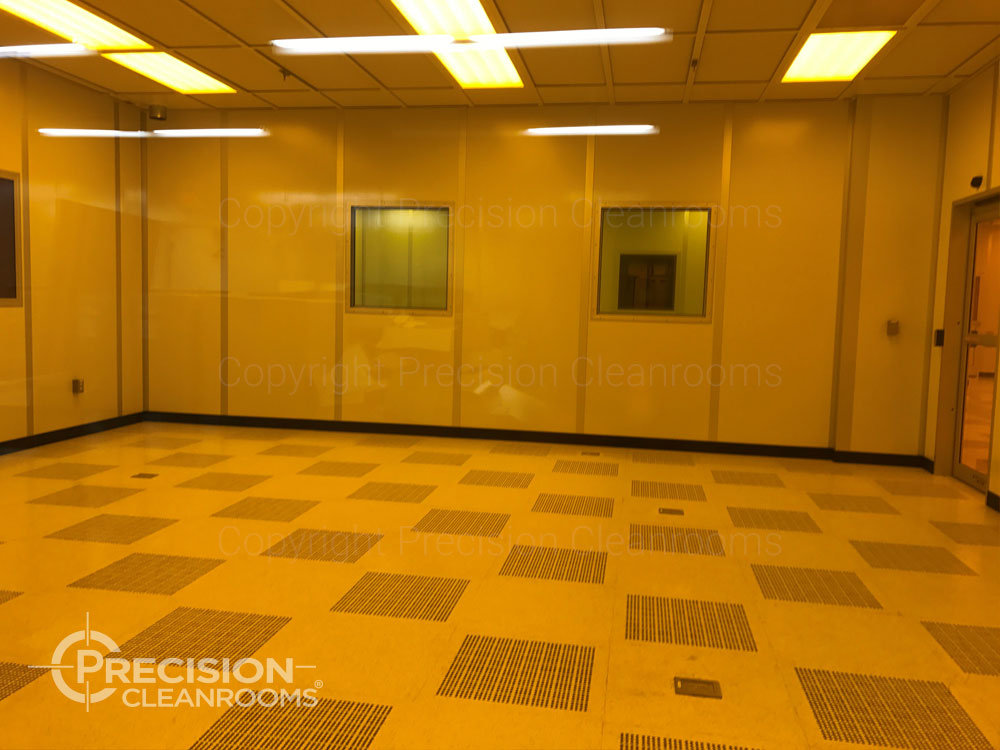 ISO Class 5 Semiconductor Cleanroom Fab